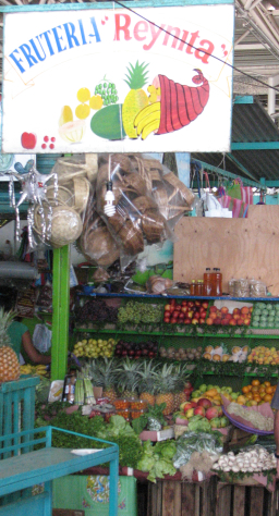 Benito Juarez Market Puerto Escondido Fruit