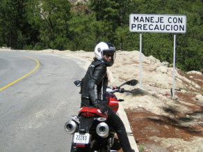 FMK Mexico Motorcycle Mountains