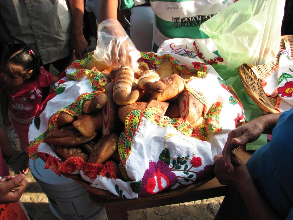 Homemade pastries market day mexico huatulco