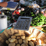 calculator santa domingo market oaxaca mexican fruit store