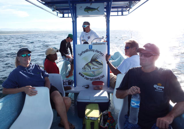 group fishing tour mexico